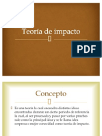 Teoría de impacto