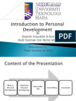 Introduction to Personal Development