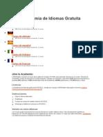 Academia de Idiomas Gratuita 2012