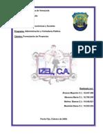 Trabajo de ion (IZEL C.a.)MJAG