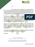 Comunicado FEULS