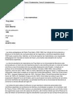 Curso de Geometrmica Tomo i Fundamentos Tomo II Complementos