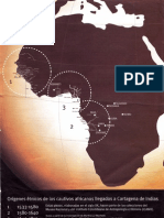 Origenes Etnicos de los cautivos africanos llegados a Cartagena de Indias