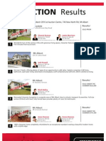Auction Results 7 March 2012