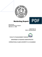 Marketing Report on Fruit Juices - -Murree Brewery