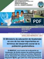 Presentación MINEDUC 2011