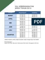 Info Jadwal Umroh 2010