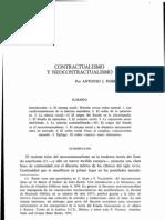 contractualismo y neocontractualismo