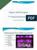 8 Organic World Conference - P Cheattho