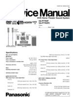 46473911 Panasonic SAPT 760 P Service Manual 1