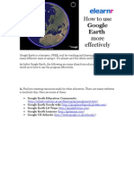 How to Use Google Earth More Effectively