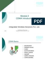 Module2 - Cellular Overview - CDMA