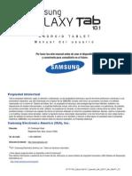 Generic Gt-p7510 Galaxy Tab 10-1 Spanish User Manual