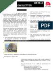 Newsletter 21nov