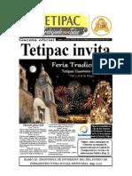 Gaceta  oficial Tetipac