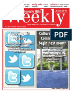Cover Stories--Beverly Hills Weekly, Issue #649