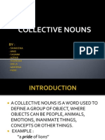 Collective Nouns (Section 2)