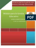 RESUMEN TECNOLOGÍA EDUCATIVA PARA LA GESTIÓN