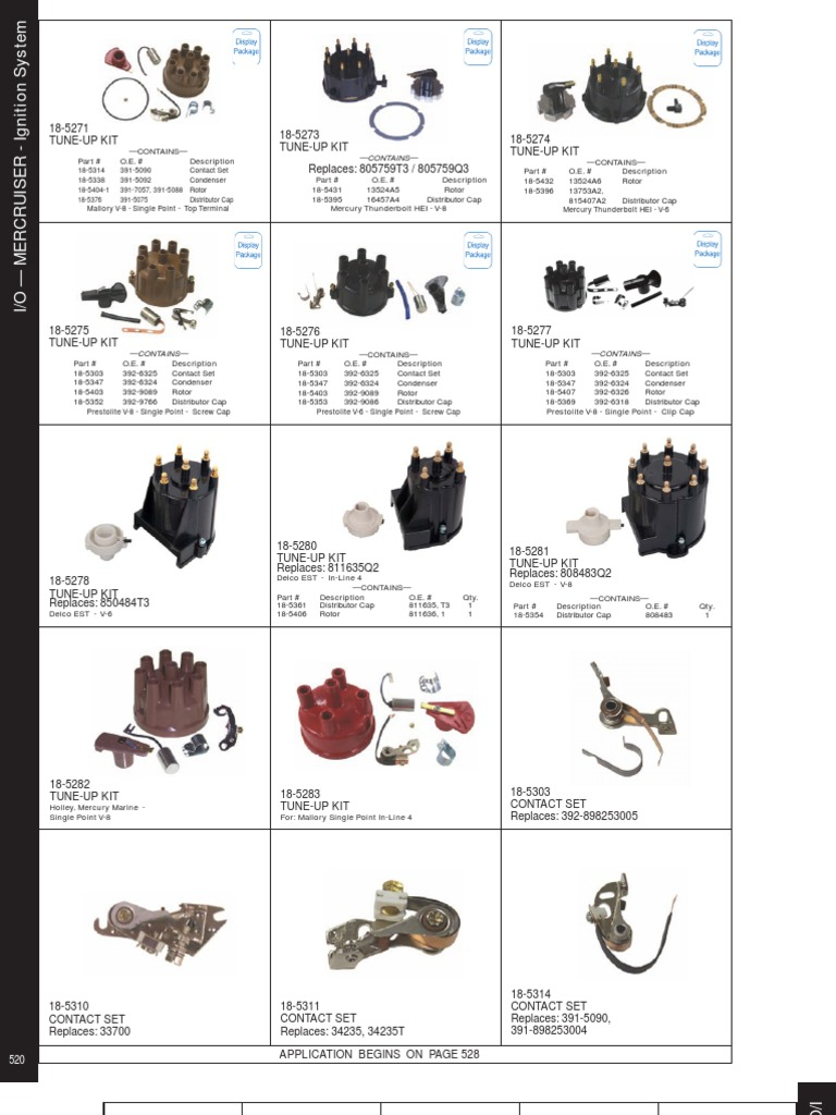 Sierra International 18-5294 Ignitor Electronic Ignition Conversion Kit for 6-Cylinder Delco Distributors