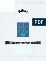 Bihar Industrial Incentives Policy 2006