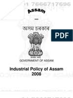 Assam Industrial Policy 2008