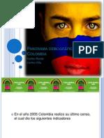 Panorama demográfico en Colombia