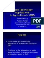 14 Space Technology Application in Agriculture in GMS- YMuraki
