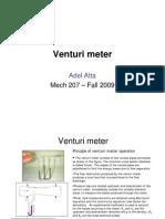 Atta - Venturi Meter Combined
