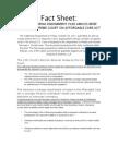 The California Endowment - Amicus Brief Fact Sheet
