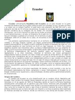 Ecuador-Información General