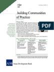 Building Communities of Practice