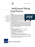 Identifying and Sharing Good Practices