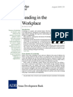 Leading in the Workplace