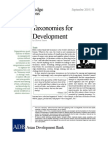 Taxonomies for Development