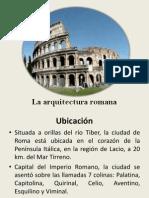 La Arquitectura Romana Reducido