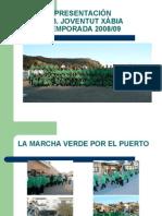 Presentación Joventut Xàbia 2008/09