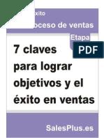 7 Claves Para Lograr Objetivos en Ventas