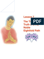 Buddhism for You Lesson07 Noble Eight Fold Path 100606100622 Phpapp01