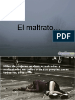 El Maltrato Diapositivas