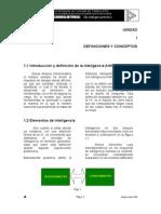 1 - IA - Definiciones y Conceptos