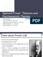 Freud Theories Psychoanalytic Therapy Final