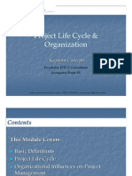 Ch.2 Project LifeCycle & Organization