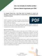 Seminario COEC Sobre La Reforma Laboral