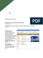GHG Indicators Framework_paper