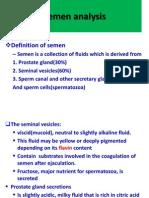 Semen Analysis (Seminal Cytology, Sperm Count