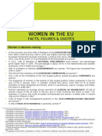 European Women's Lobby Press Briefing Women in the EU - Some Facts and Figures 2012
