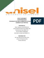 Proposal Enterpreneurship