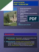 Biostatistik Pengantar