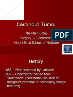 Carcinoid Tumor - MColey