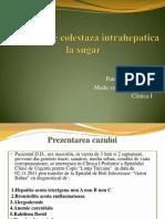 SDR. ICTERIC-Prezentare de Caz Final